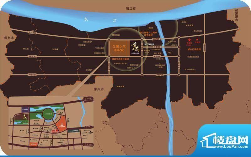 首府花园交通图