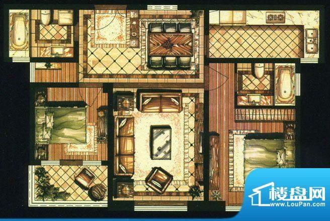 爱家名邸37号楼1单元面积:106.00平米