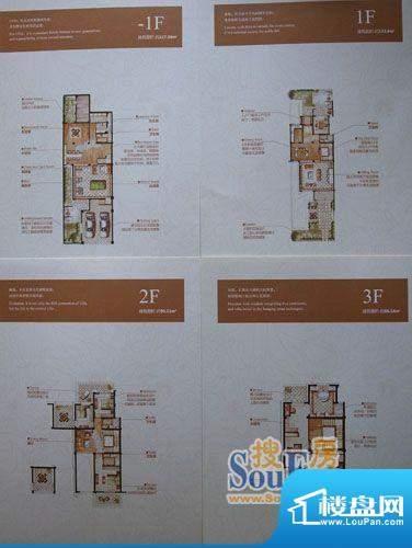 爱家名邸双拼别墅II面积:427.64平米