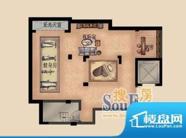 嘉福花园洋房洋房D-面积:165.00平米
