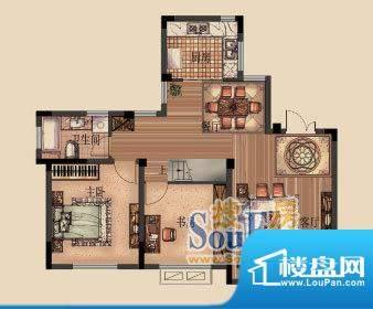 嘉福花园洋房洋房D-面积:155.00平米