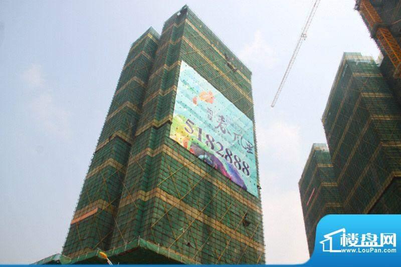 阳基·春风里工程进度实景图20121013
