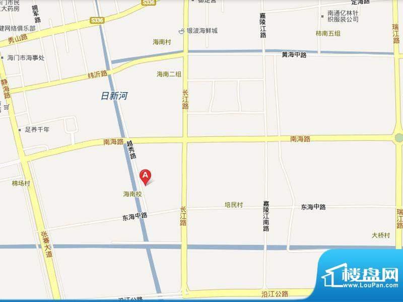 龙馨家园交通图