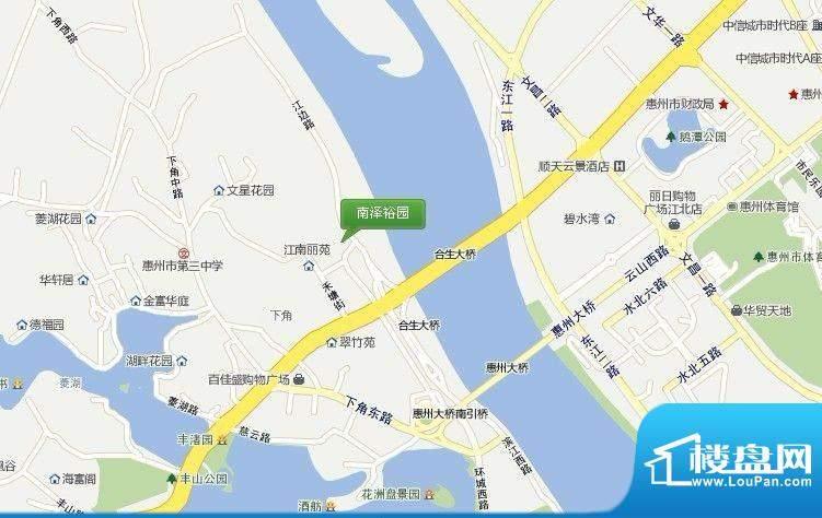 禾塘集交通图