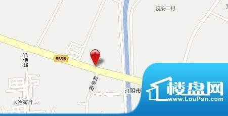 新澄富邸交通图