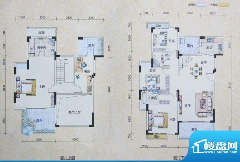 2期五房户型图