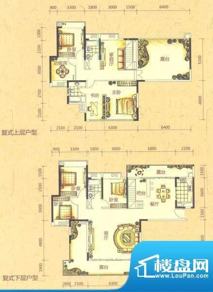 六房户型图