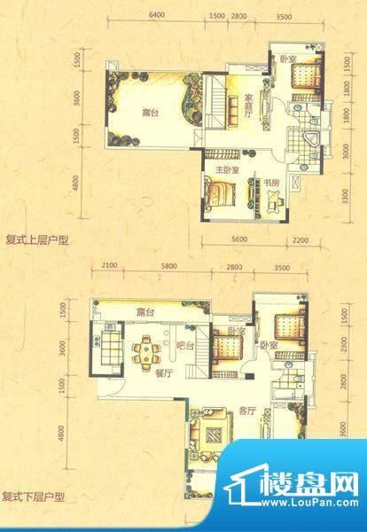 五房户型图