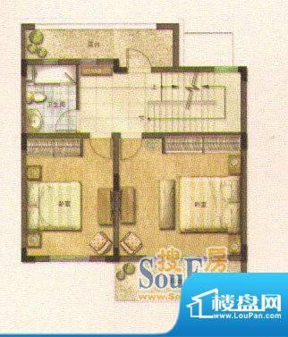 和院A户型二层 面积:0.00平米