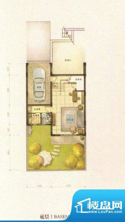 和院A户型底层 面积:0.00平米
