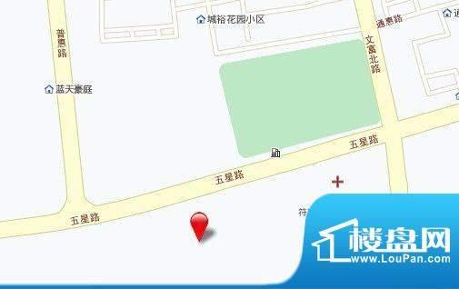 长江御园交通图