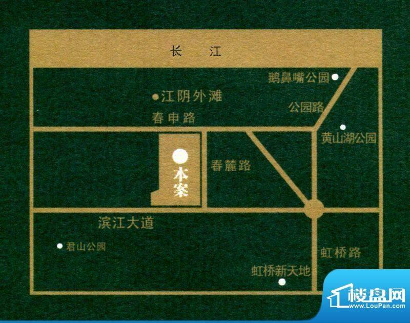 江阴外滩名门交通图