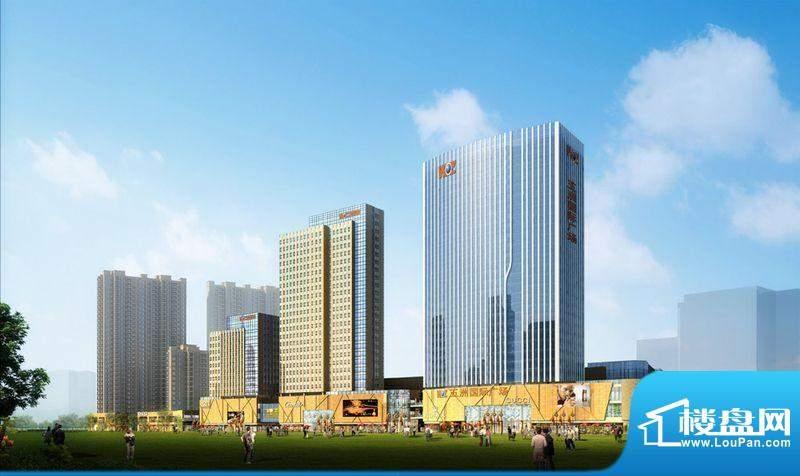 江阴五洲国际广场效果图
