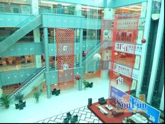 恒亚国际家居购物广场交通图