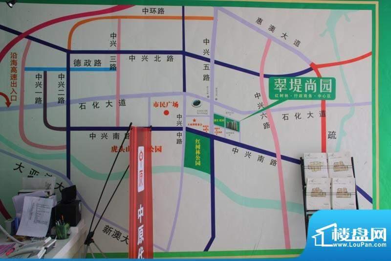 翠堤尚园交通图