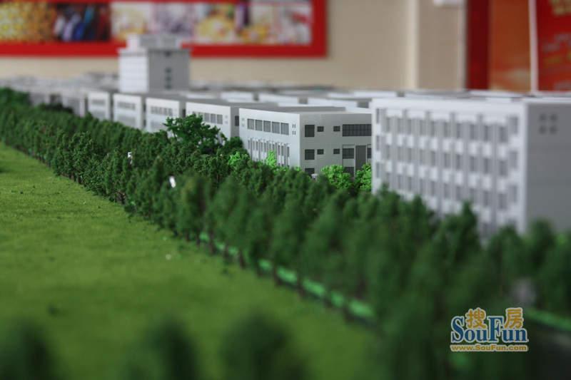 南通纺都城工业园绿化景观