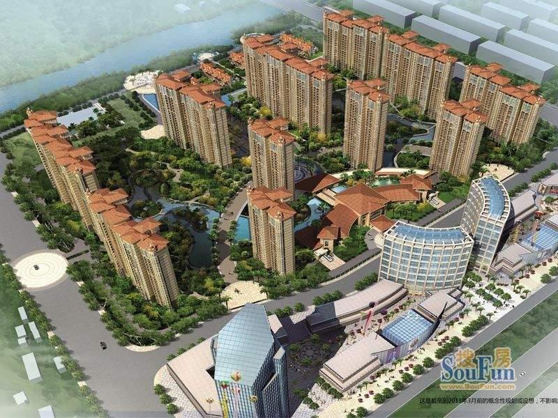 海门中南世纪锦城实景图
