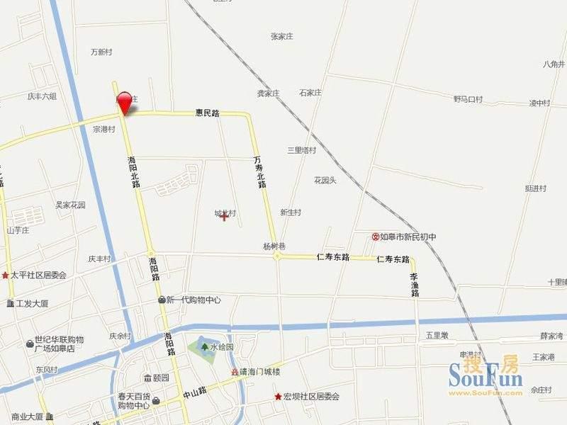 山姆城市广场交通图