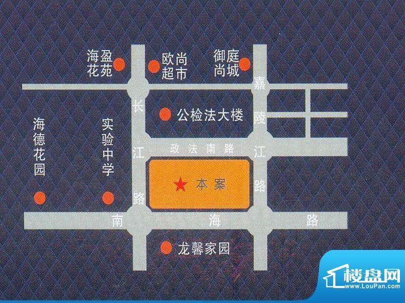 商和不夜城交通图
