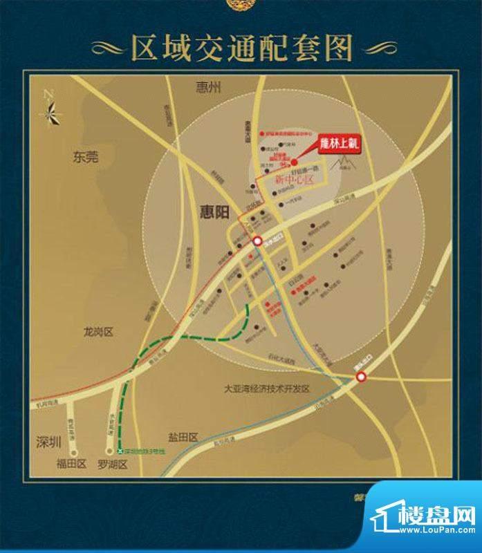 龙林上观交通图