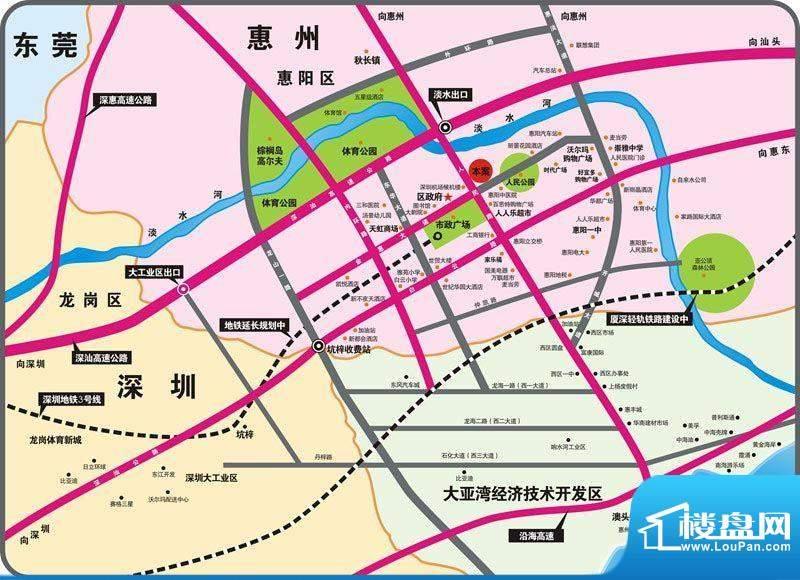 华伟第E商道交通图
