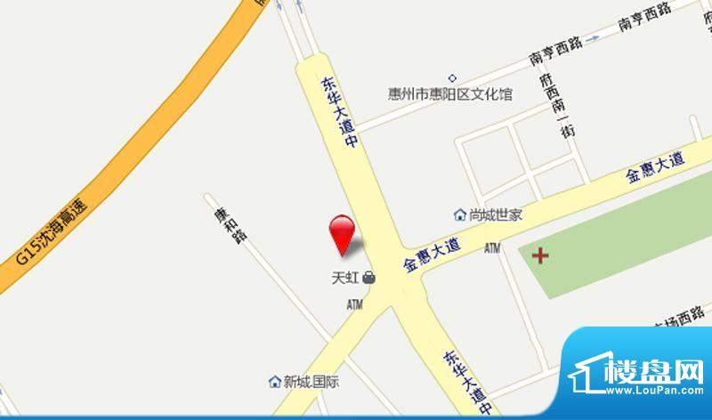 鸿源国际广场交通图