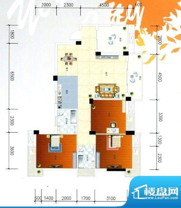 柳工颐华城二期10#楼面积:119.00m平米