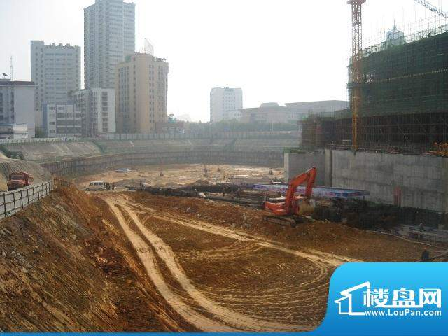 地王国际财富中心工地外景(2010.12.30