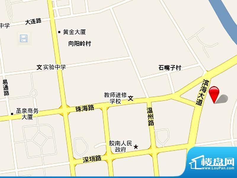 达令港交通图