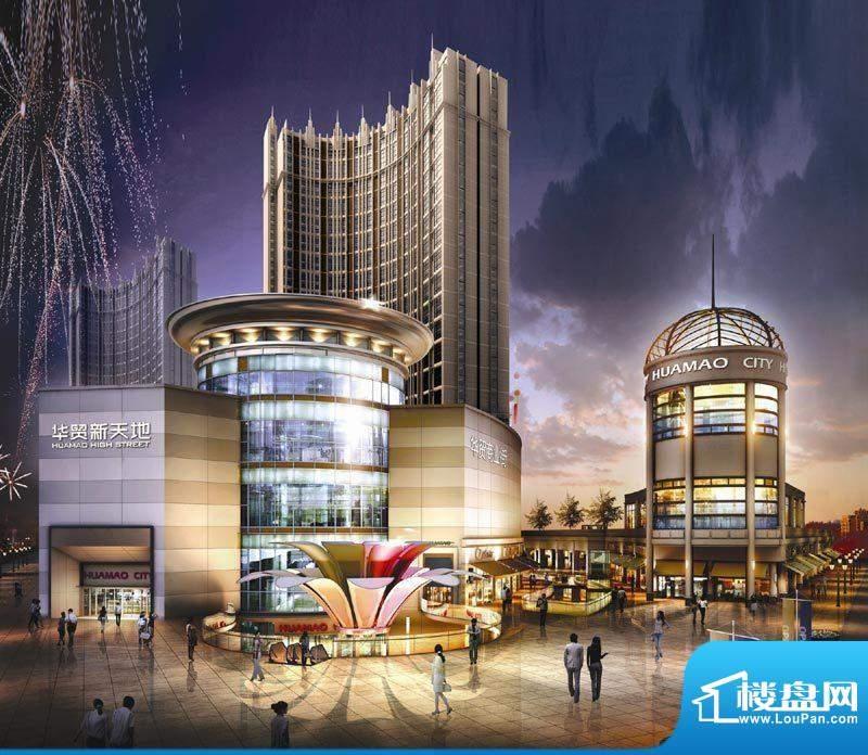 北京华贸城效果图
