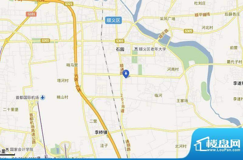 鹭峯国际位置图