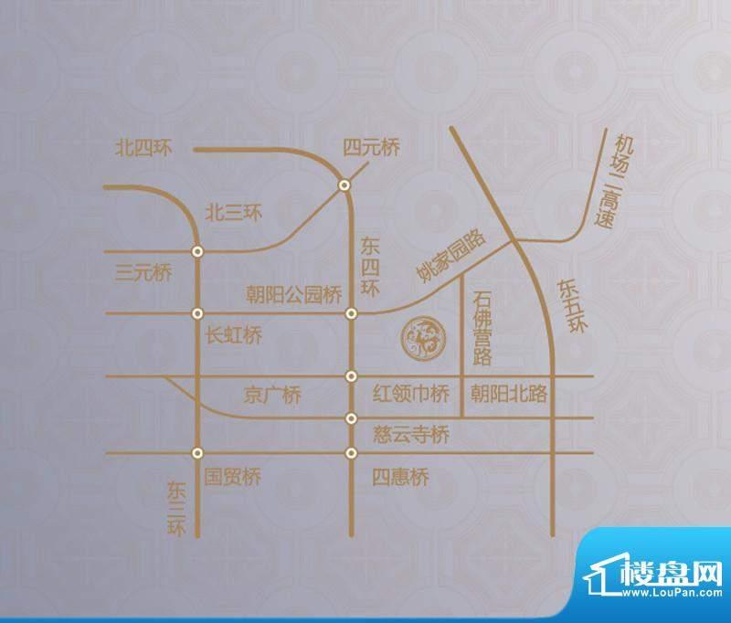 保利东方中心交通图