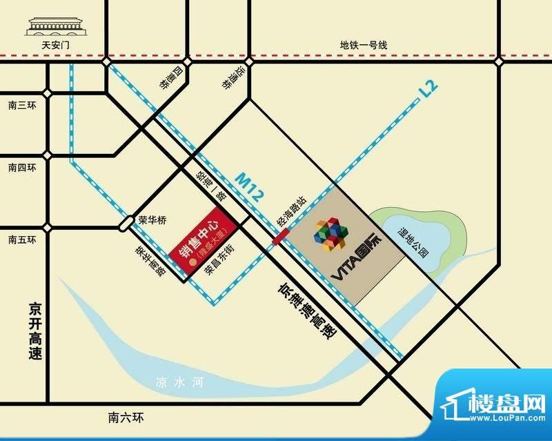 VITA国际交通图