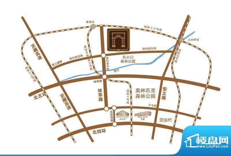 金隅翡丽·私享匯交通图