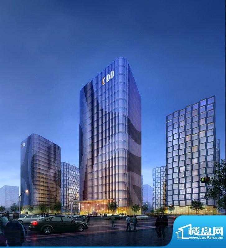 CDD创意港·嘉悦广场楼栋外景图