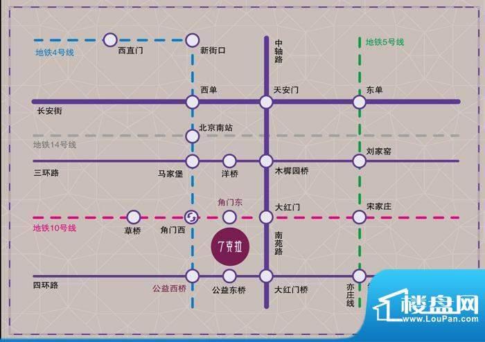 7克拉交通图