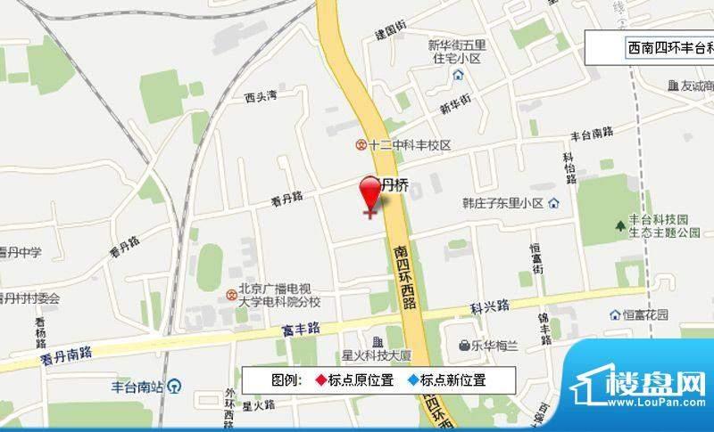 托普科技园交通图