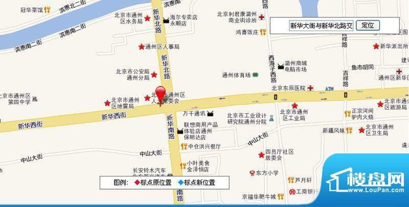 京杭广场交通图