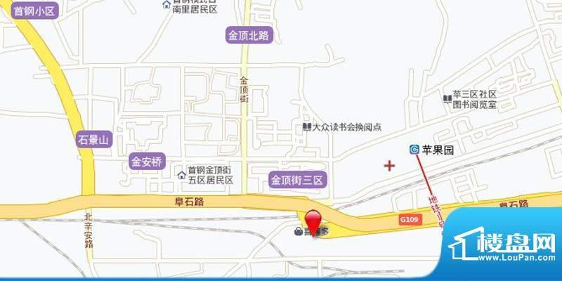 中国铁建·耀中心交通图