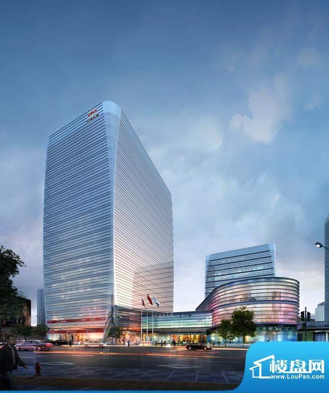 中国铁建·耀中心效果图