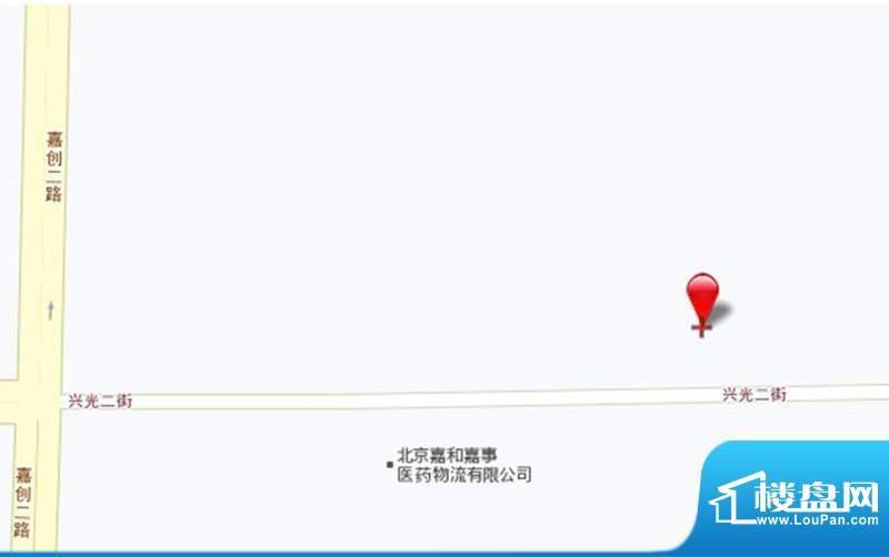 北京经开国际企业大道Ⅲ位置图