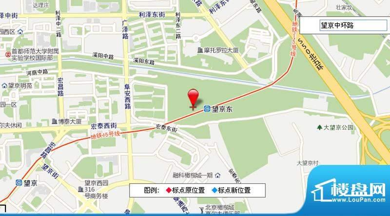 北京绿地中心交通图