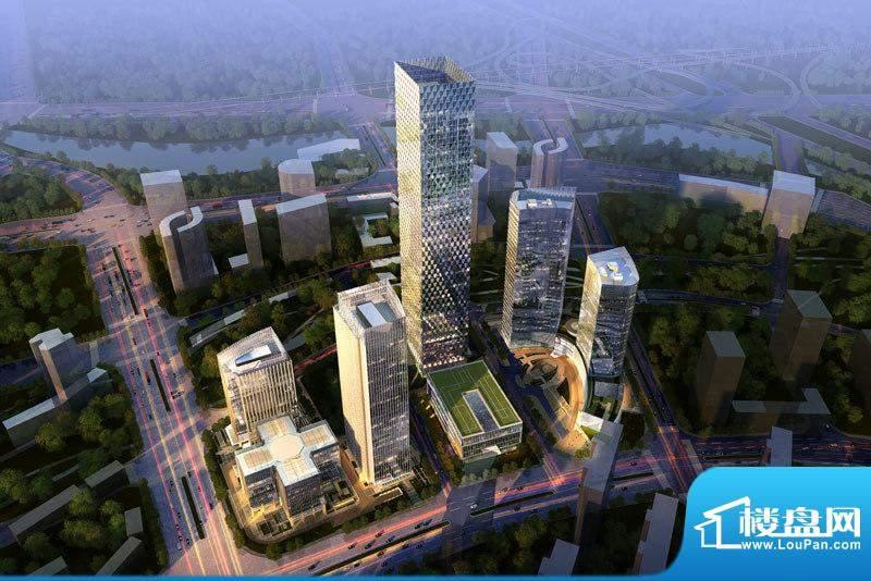 北京绿地中心效果图