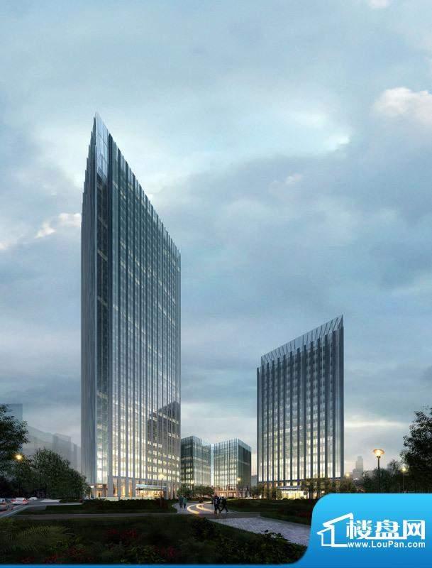 北京绿地中心外景图6