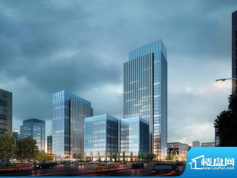 北京绿地中心外景图