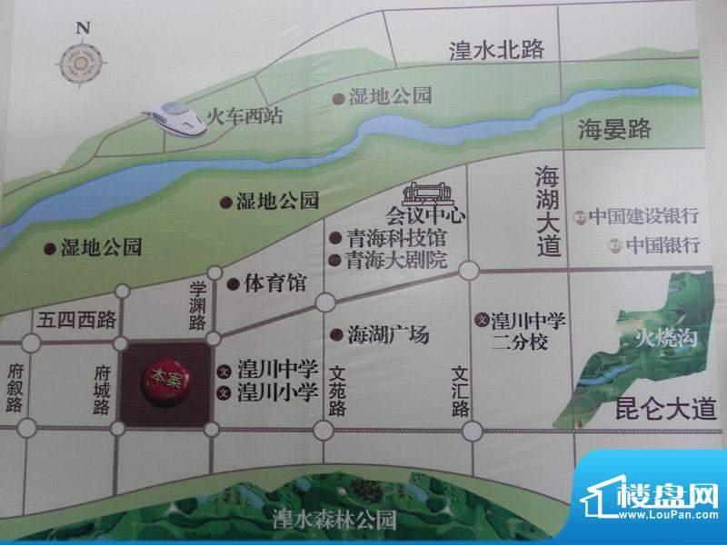 恒昌卢浮公馆交通图