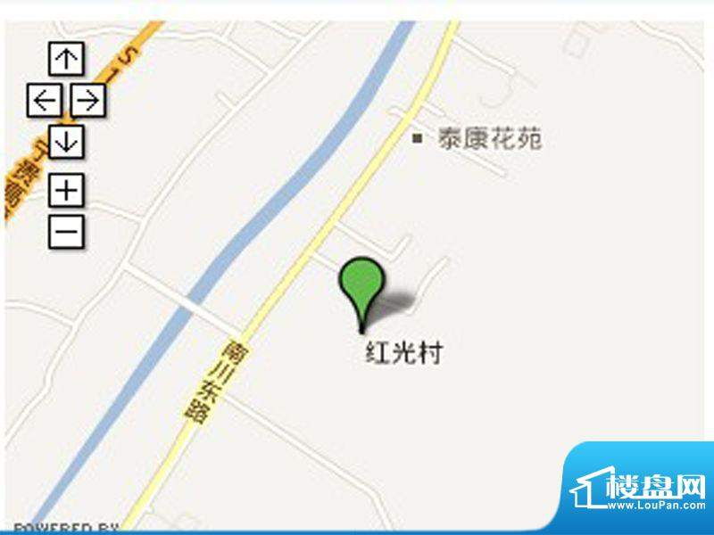 怡馨花园交通图