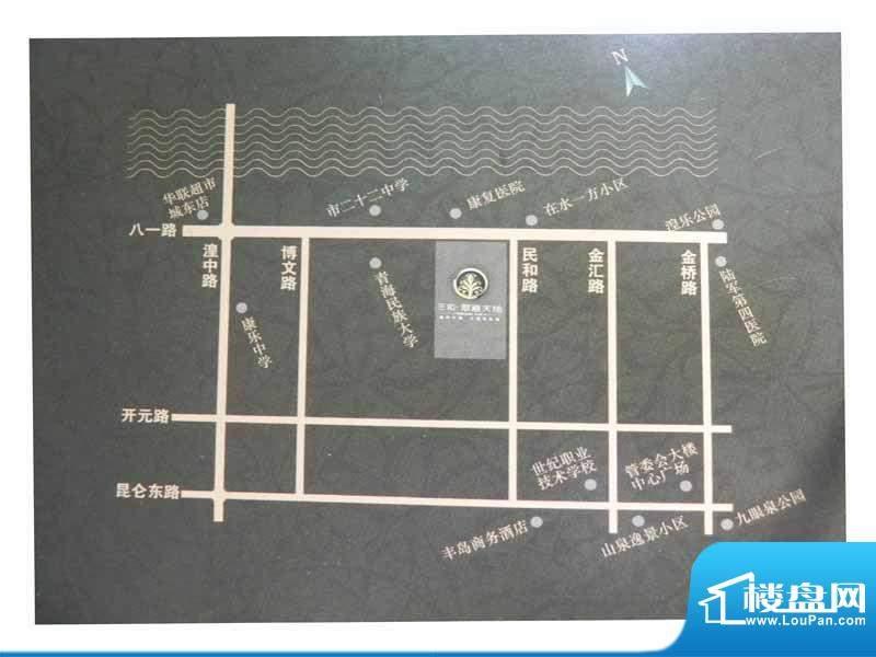 三和翠雍天地三期交通图