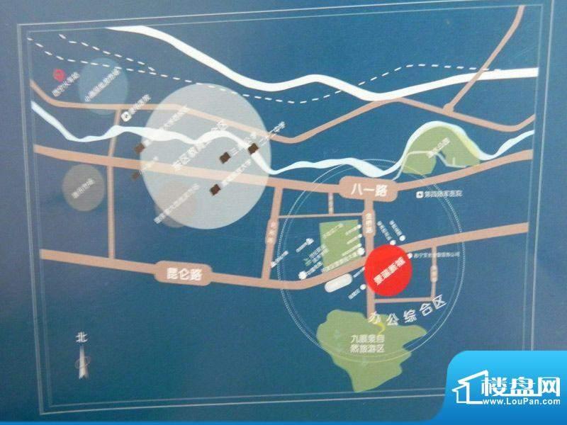 新力景瑞新城交通图