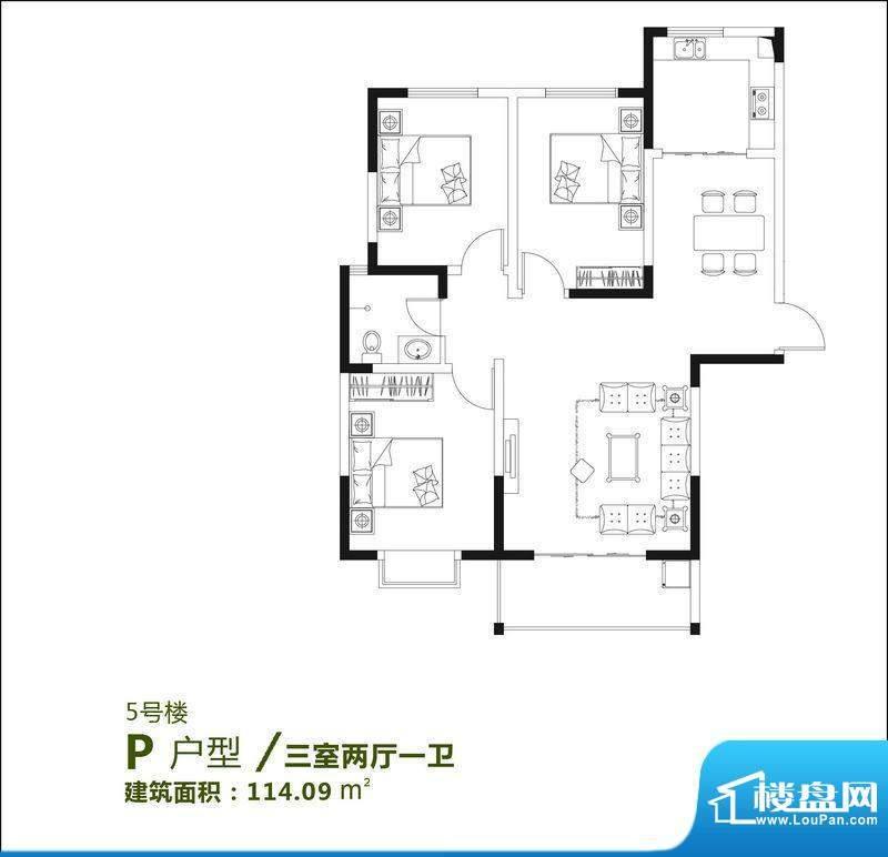 新城·春华苑户型图面积:0.00m平米